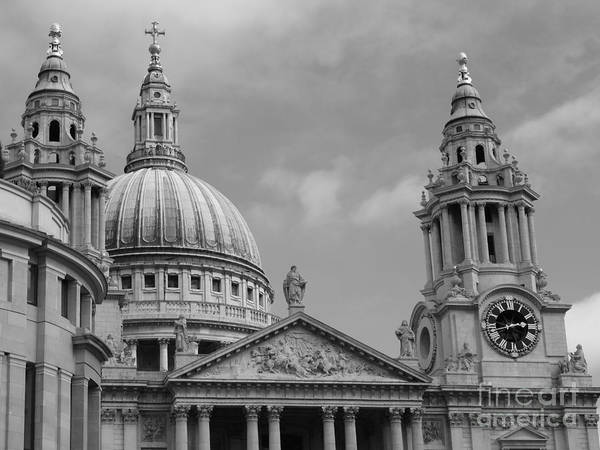 Photograph - St. Paul's Cathedral by Jeffrey Peterson