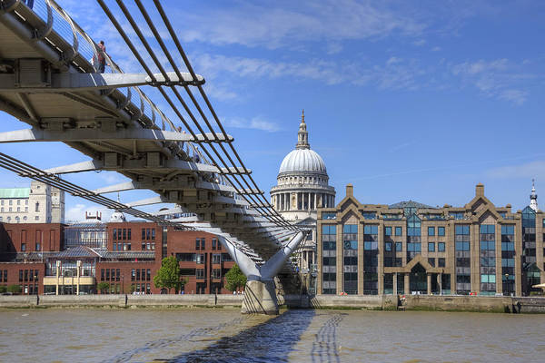 Millenium Photograph - St Paul's Cathedral by Joana Kruse