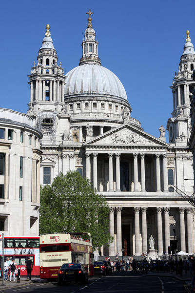 Photograph - St Paul's Cathedral, London, England by Aidan Moran