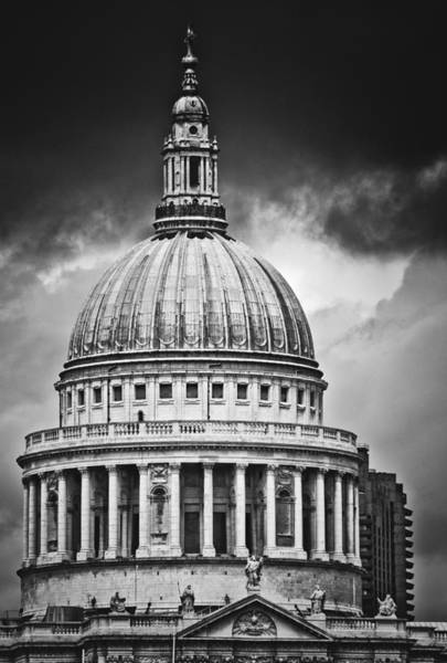 Photograph - St. Paul's Cathedral, London, England, Uk by Neil Alexander
