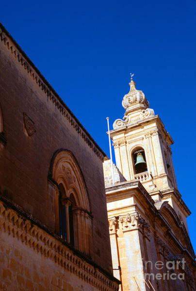 Photograph - St Pauls Cathedral Mdina Malta by Thomas R Fletcher