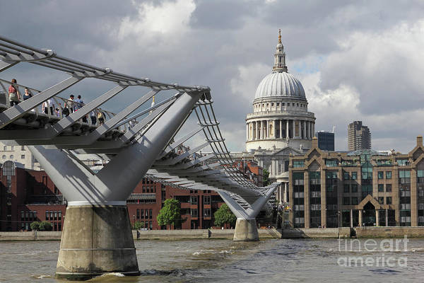 Photograph - St Pauls In The City Of London  by Julia Gavin