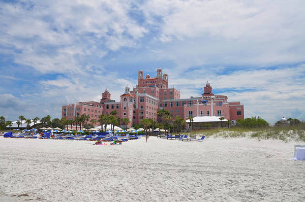 Cesar Wall Art - Photograph - St Pete Beach - The Don Cesar Hotel by Bill Cannon