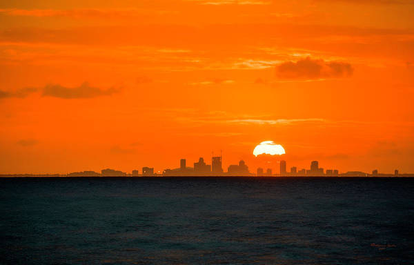 Wall Art - Photograph - St. Pete Fireball by Marvin Spates