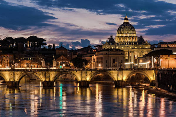 Photograph - St. Peter's Basilica - 3 by Gary Lengyel