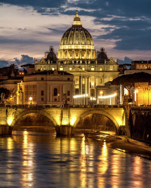 Photograph - St. Peter's Basilica by Gary Lengyel