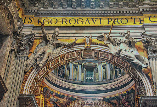 Photograph - St Peters Basilica by Gary Slawsky