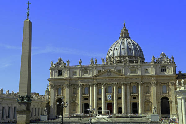 Photograph - St Peters Basilica by Tony Murtagh