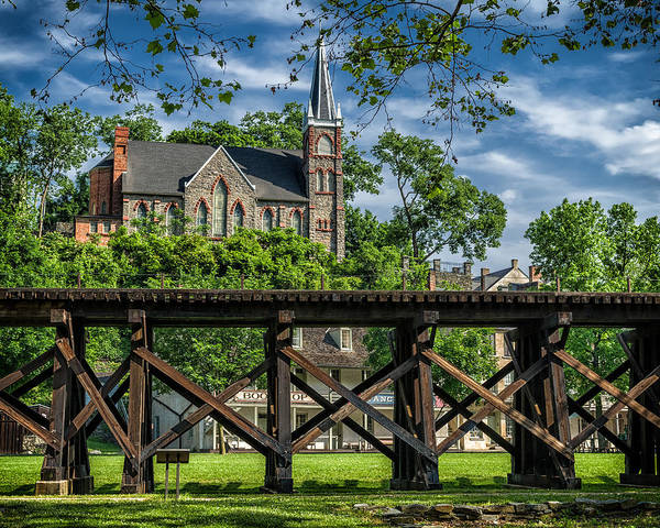 Photograph - St. Peter's Church, Harpers Ferry by Lori Coleman