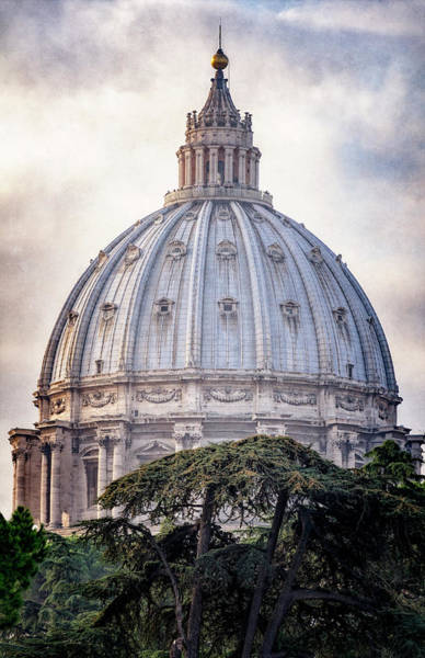 Photograph - St Peter's Dome by Joan Carroll