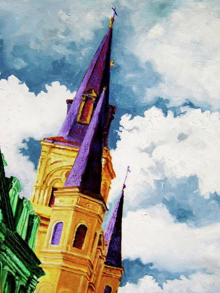 Wall Art - Painting - St. Peter's by Laura Pierre-Louis