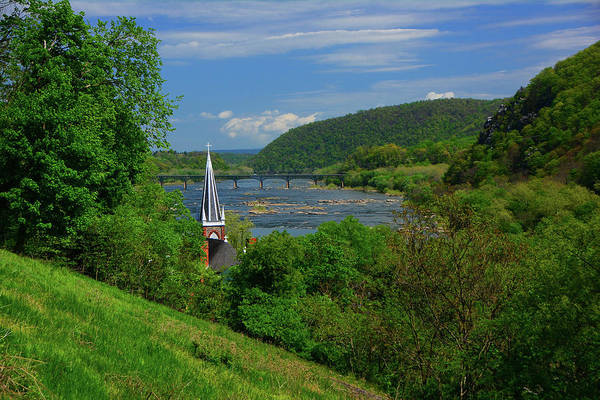 Photograph - St. Peter's Roman Catholic Church In Harpers Ferry by Raymond Salani III