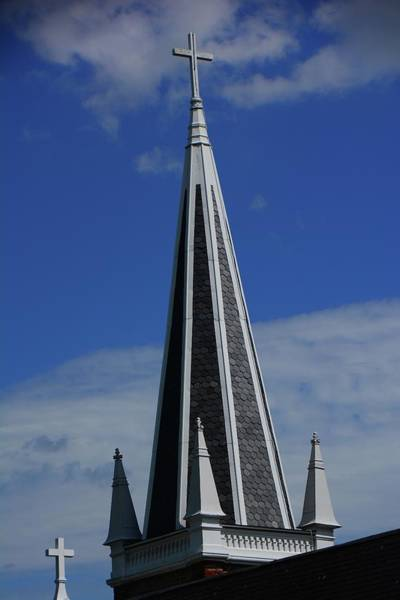 Photograph - St. Peter's Roman Catholic Church's Steeple In Harpers Ferry by Raymond Salani III