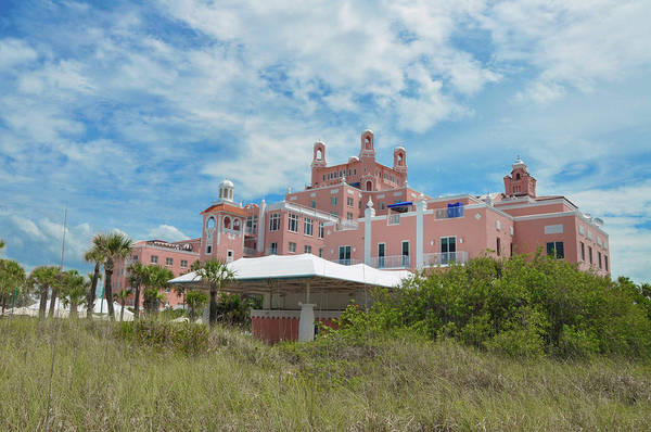 Cesar Wall Art - Photograph - St Petersburg Beach - The Don Cesar Hotel by Bill Cannon