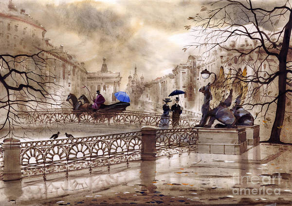 Wall Art - Painting - St. Petersburg II by Svetlana and Sabir Gadghievs