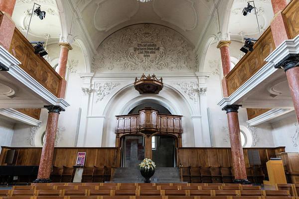 Wall Art - Photograph - St Peterskirche - Zurich by Stephen Stookey