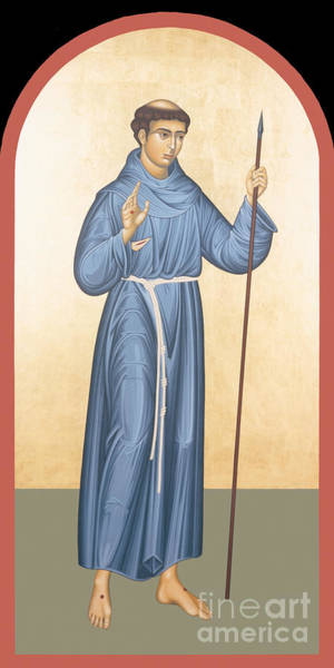 Painting - St. Philip Of Jesus - Rlpoj by Br Robert Lentz OFM