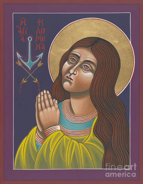 Painting - St Philomena 167 by William Hart McNichols