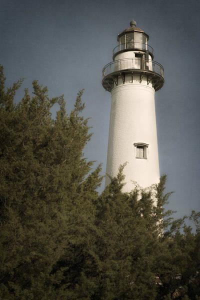 Photograph - St Simons Island Lighthouse I by Joan Carroll