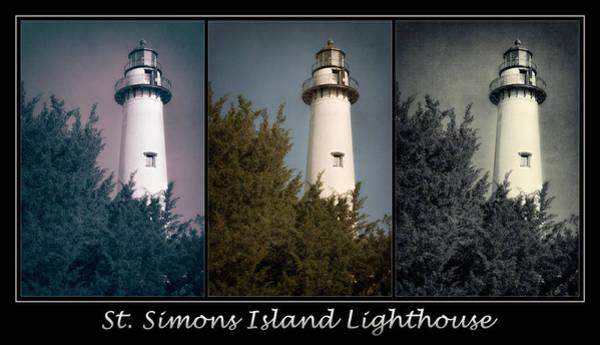 Photograph - St Simons Island Lighthouse Poster by Joan Carroll