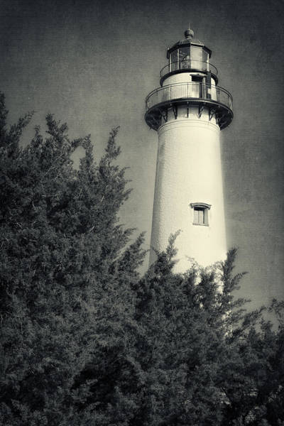 Photograph - St Simons Lighthouse Morning II by Joan Carroll