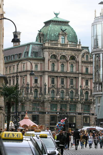Photograph - St Stephens Square Vienna by Angela Rath
