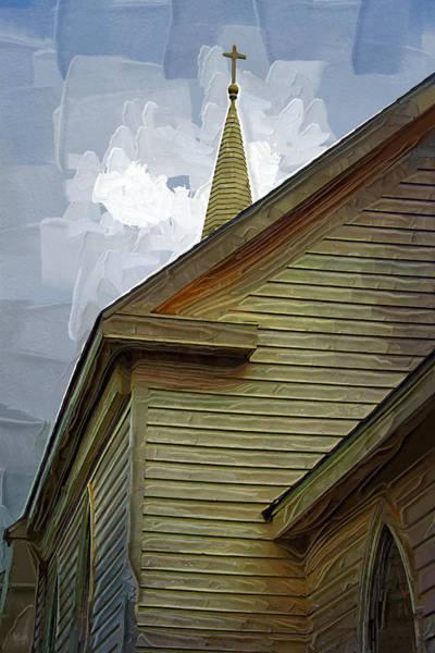 West Bay Digital Art - St. Teresa Bodega Bay by Holly Ethan