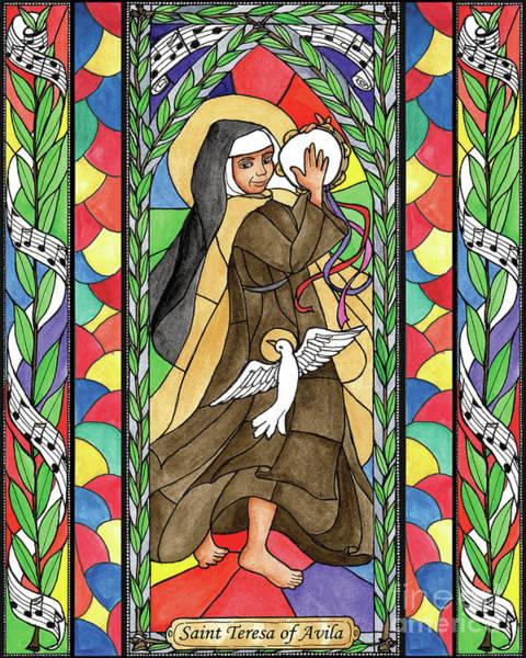 Painting - St. Teresa Of Avila by Brenda Nippert