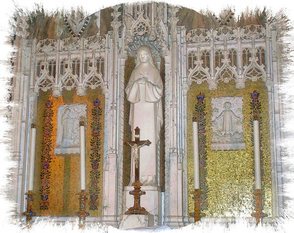 Wall Art - Photograph - St Therese Of Liseaux by Rose Guay