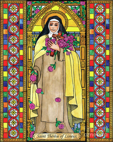 Painting - St. Therese Of Lisieux by Brenda Nippert