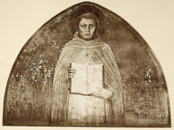 Photograph - St. Thomas Aquinas by Granger