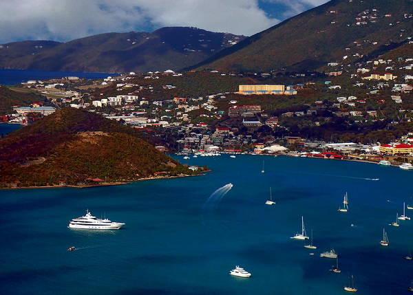 Photograph - St. Thomas Bay by Anthony Dezenzio
