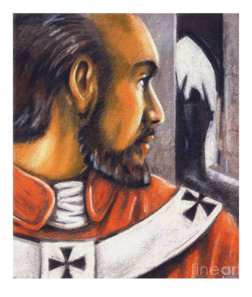 Painting - St. Thomas Becket  - Jltbb by Julie Lonneman