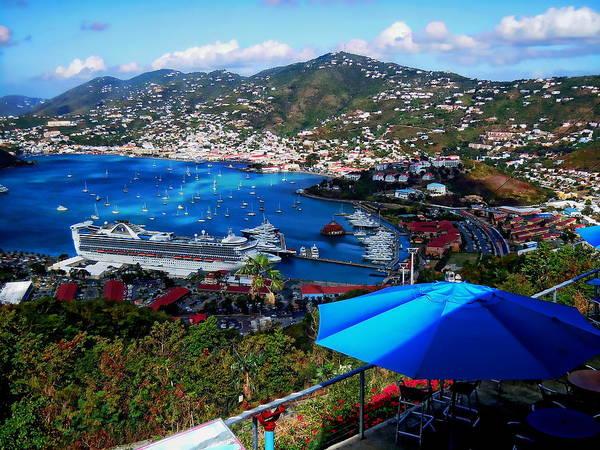 Photograph - St. Thomas - Caribbean by Anthony Dezenzio