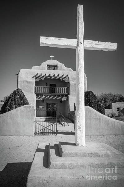 Wall Art - Photograph - St Thomas Church In Abiquiu by Inge Johnsson