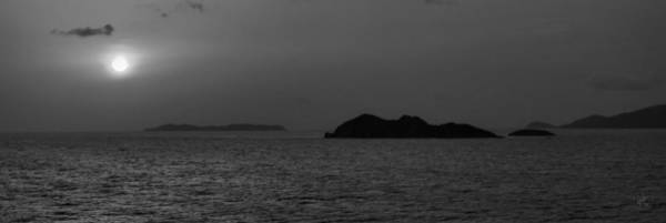 Photograph - St. Thomas Islets 001 Bw by Lance Vaughn
