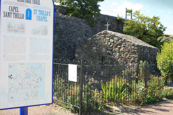 St. Trillo's - Uk - The Smallest Chapel ... Art Print