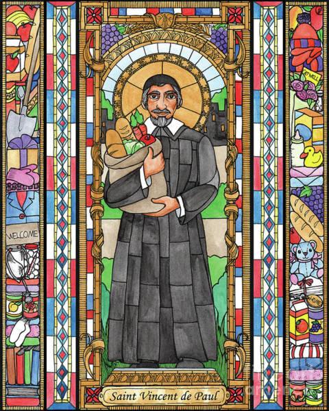 Painting - St. Vincent De Paul by Brenda Nippert