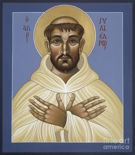 Painting - St William Of Monte Vergine 090 by William Hart McNichols