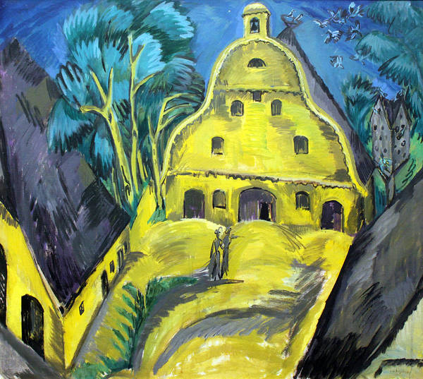 Painting - Staberhof Estate On Fehmarn by Ernst Ludwig Kirchner