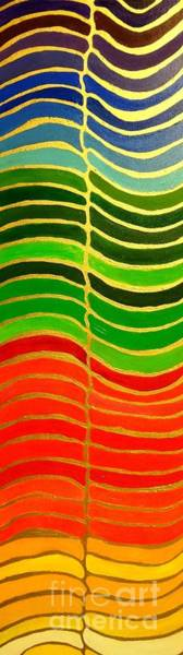 Painting - Stability Vertical Banner by Karen Jane Jones