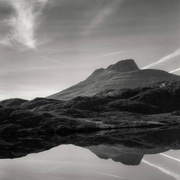 Wall Art - Photograph - Stac Pollaidh Reflection by Dave Bowman