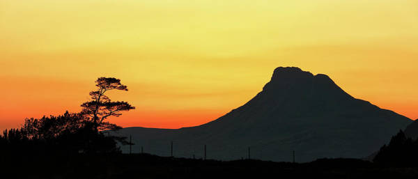 Wall Art - Photograph - Stac Polly Sunset by Grant Glendinning