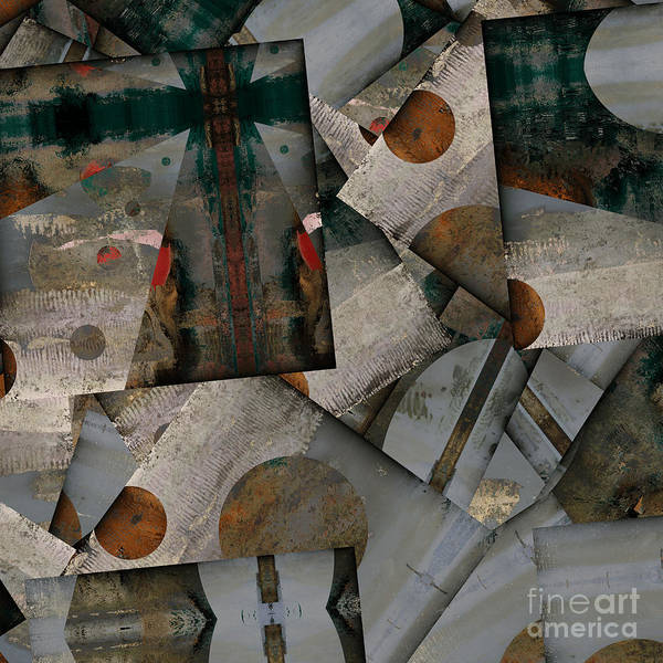 Variance Collection Digital Art - Staccato - As02-27 by Variance Collections