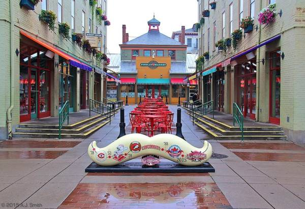 Findlay Market Photograph - 'staches On Parade 8 by Andy Smith