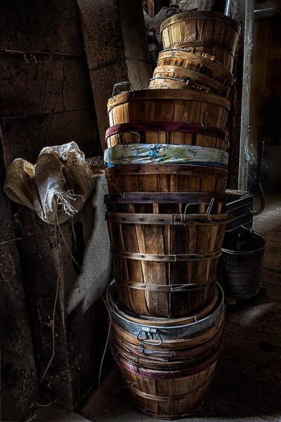Photograph - Stacked Baskets by Robert FERD Frank