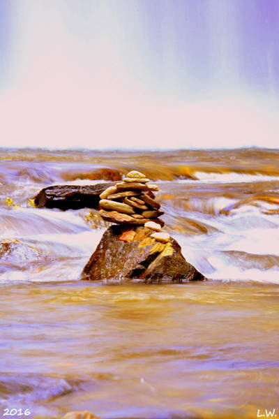 Photograph - Stacked by Lisa Wooten