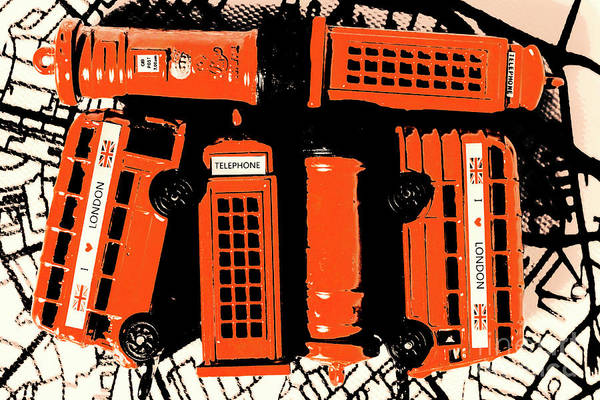 Britain Photograph - Stacking The Double Deckers by Jorgo Photography - Wall Art Gallery