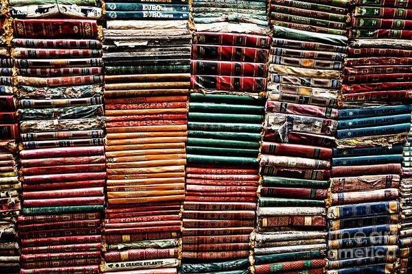 Photograph - Stacks Of Books by Miles Whittingham