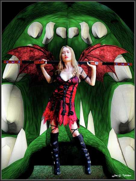 Photograph - Staff Of The Succubus by Jon Volden
